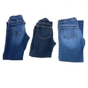 3/$15 Bundles Girls Jeans   7-8